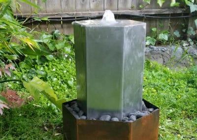 Hexagon Water Fountain