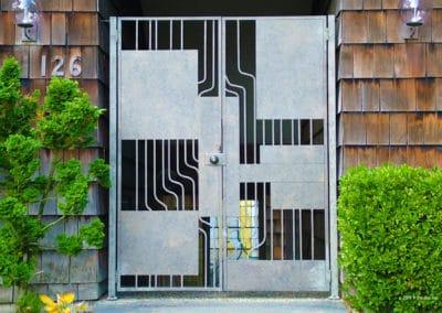 Microchip Circuitry Door