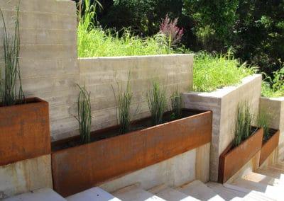 Corten Planter Boxes