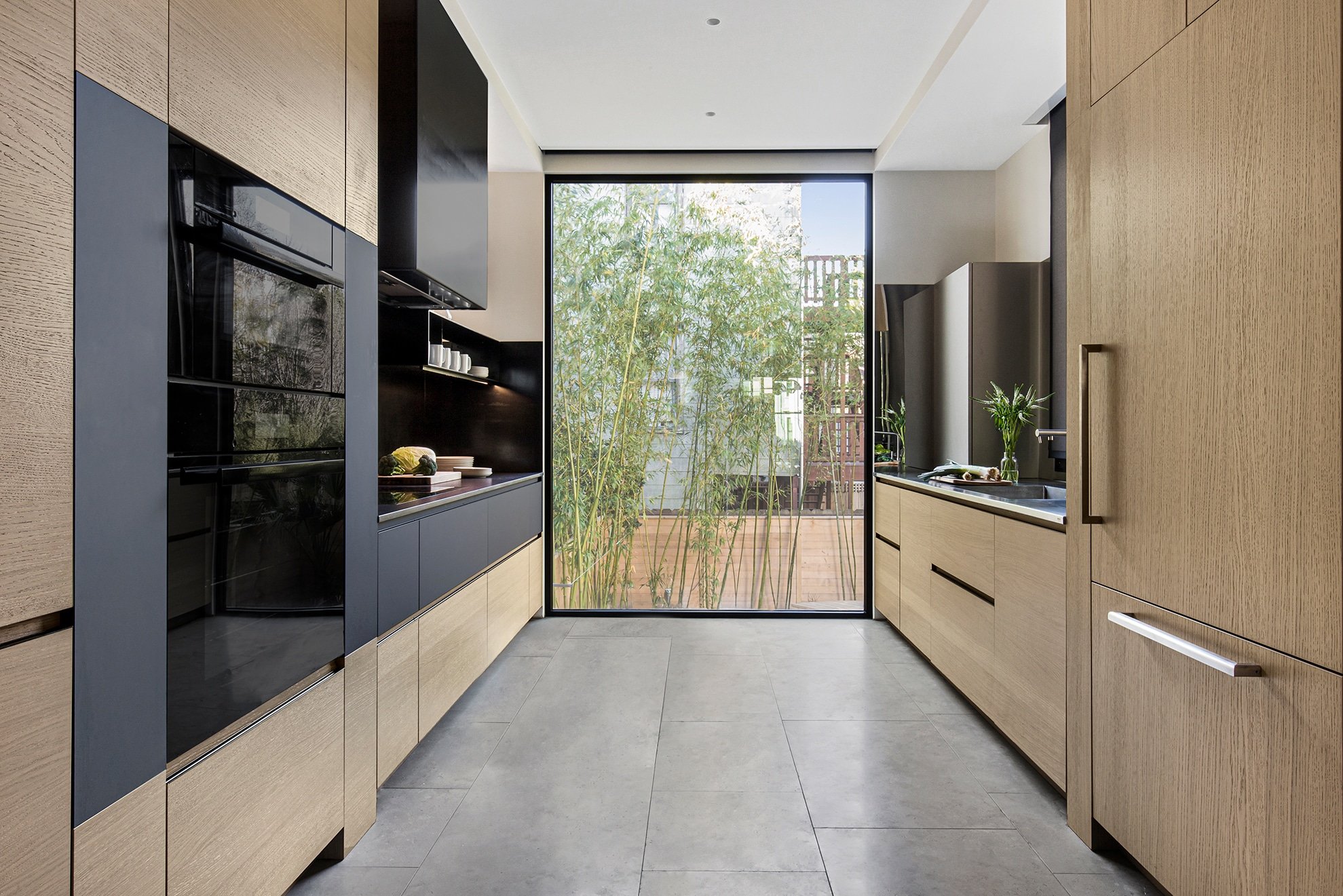 portfolio, castro district residential remodel, interior of kitchen