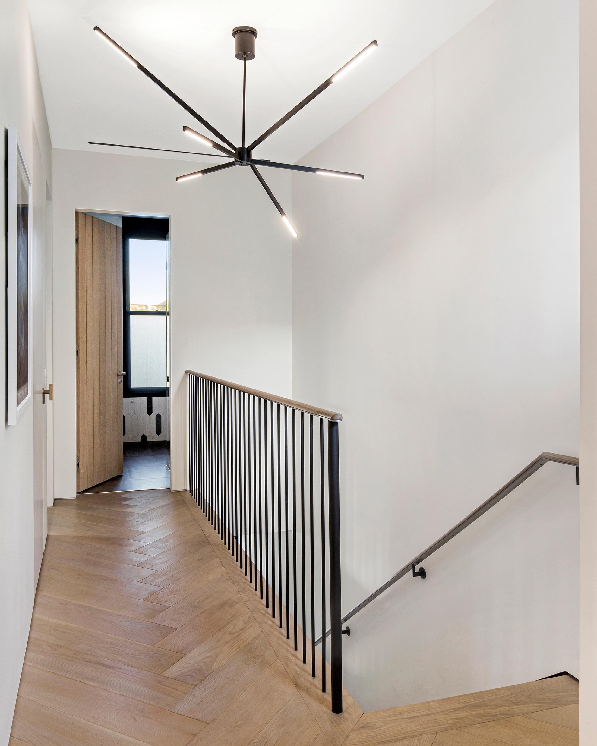 portfolio, castro district residential remodel, interior hallway upstairs
