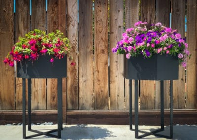 Geometric Standing Planters